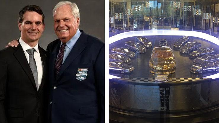 Rick Hendrick NASCAR Hall of Fame Inductee