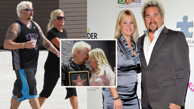 Guy Fieri And His Wife Lori | How Two Foodies Fell In Love