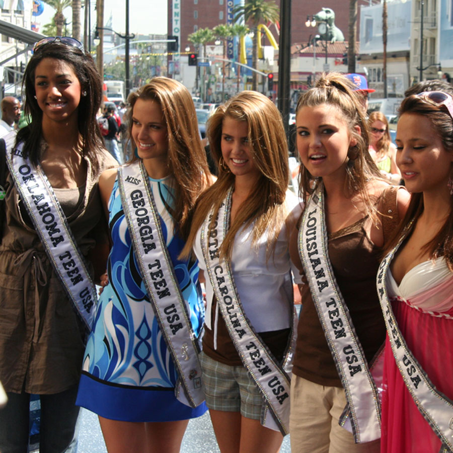 Jena was Miss Teen Georgia USA