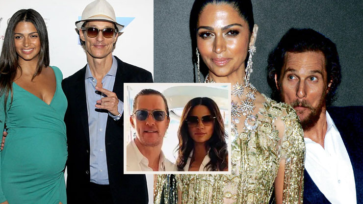 Matthew Mcconaughey's Wife (Camila Alves) | She Gave Him One Shot