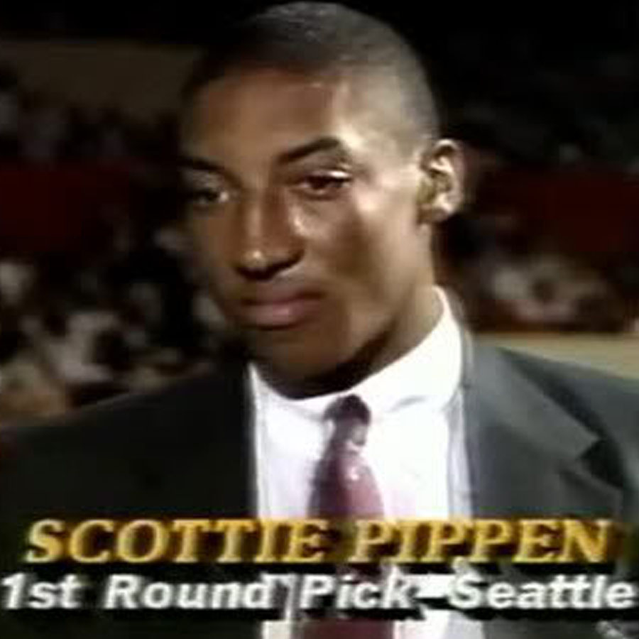 Scottie Pippen Was Drafted by the Seattle SuperSonics