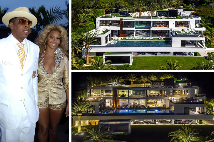 Jay Z and Beyonc  House    90 Million  California