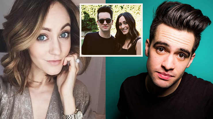 Don't Panic, This Couple Didn't Meet At The Disco | Brendon Urie and His Wife