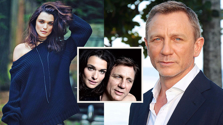 When James Bond and Evie Carnahan Got Together | Daniel Craig and His Wife