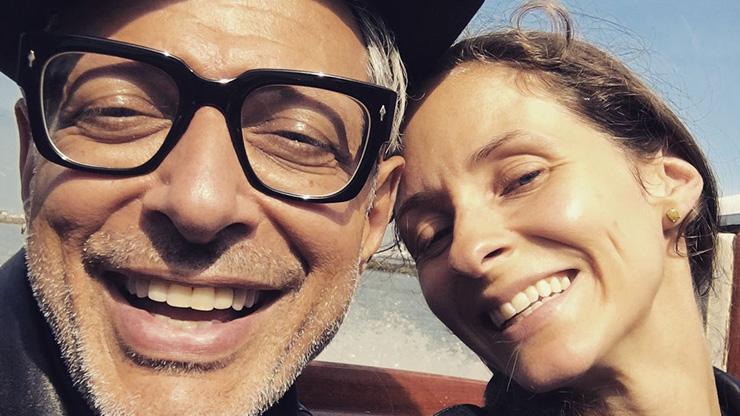 Jeff Goldblum Emilie Livingston   3