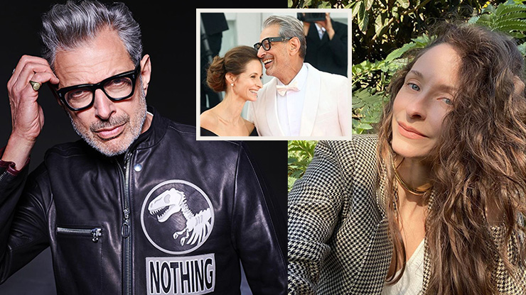 Age is Just a Number   Jeff Goldblum's Wife, Emilie Livingston