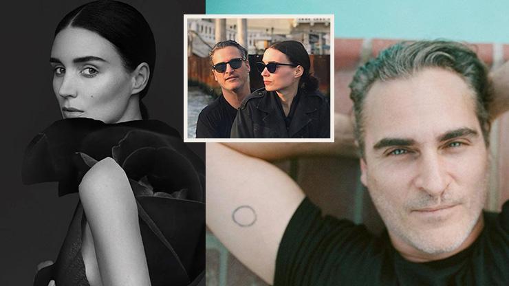 Joaquin Phoenix and Wife Rooney Mara: The New Age Tim Burton and Helena Bonham Carter?