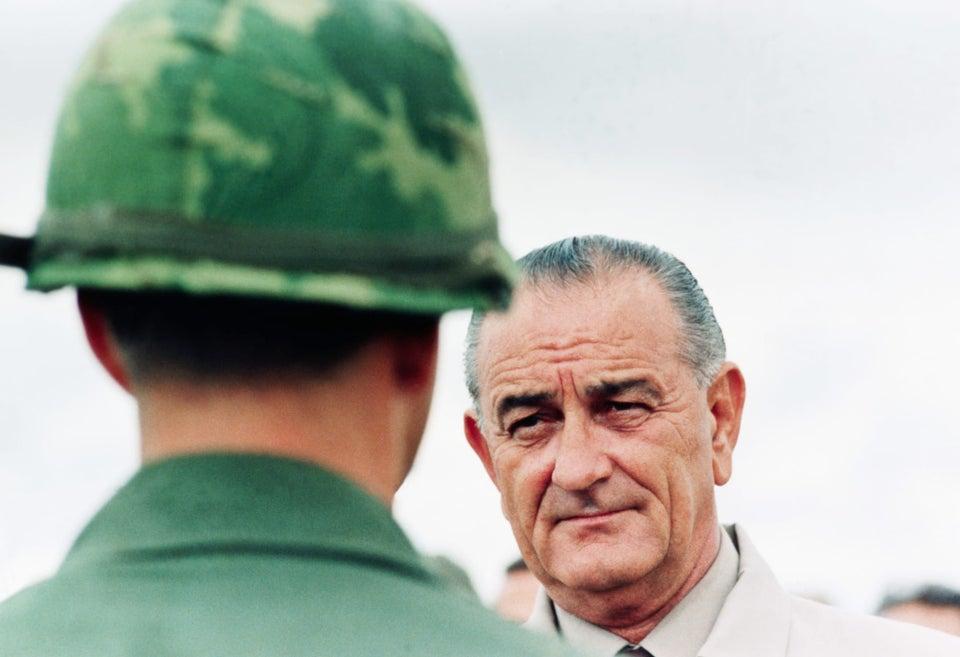 President Lyndon B Johnson 1