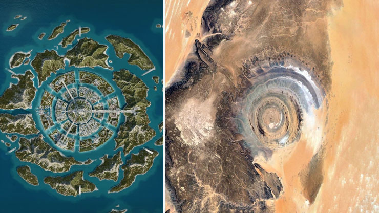 Atlantis and The Eye Of Africa 1
