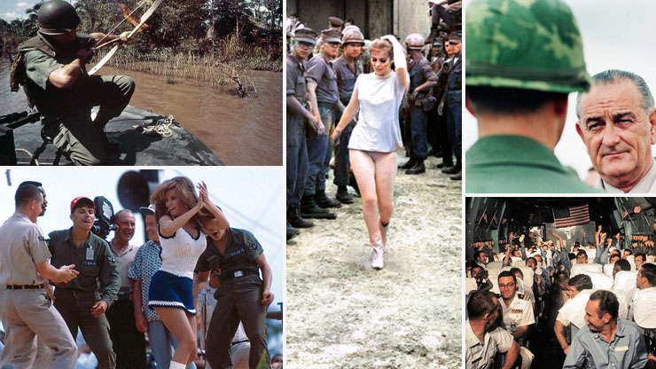 Rare Photos From The Vietnam War Brought To Life With Color