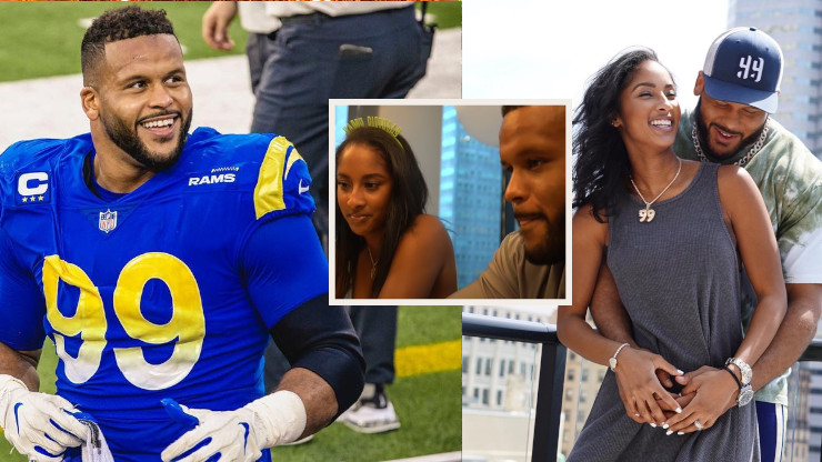 Aaron Donald and His 2nd Chance at Love with Wife Erica