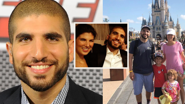 Ariel Helwani Still Star-Eyed for his Childhood Sweetheart and Wife, Jaclyn