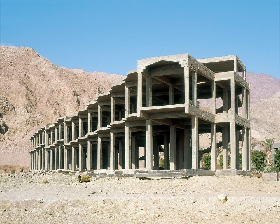 Abandoned Hotels before Construction was finished in Sinai  Egypt