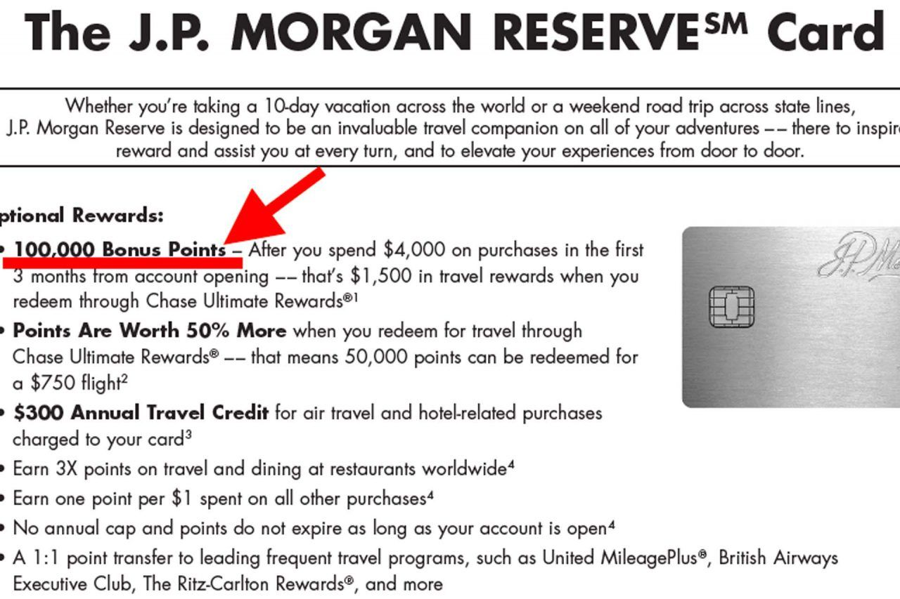 Benefits of the JP Morgan Reserve Card 1280x853