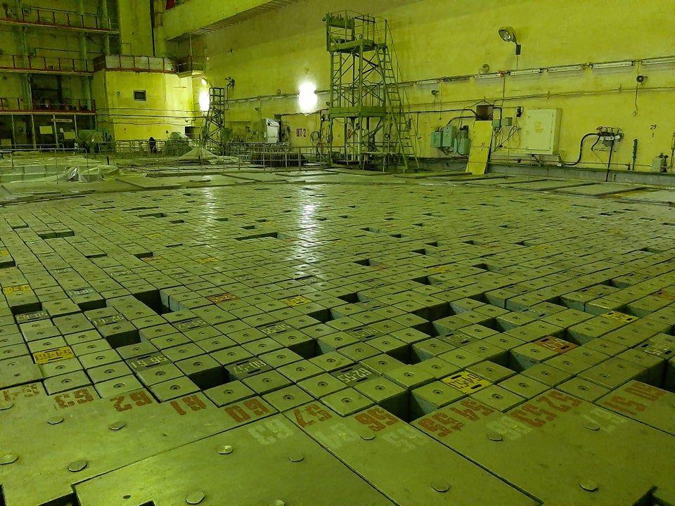 Chernobyl Reactor No