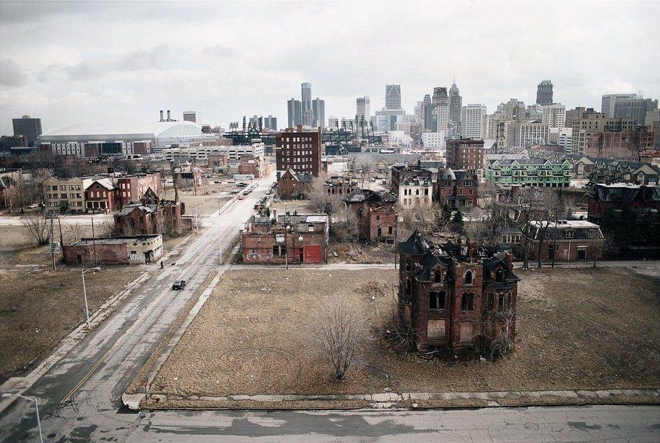 Detroit Falling Apart