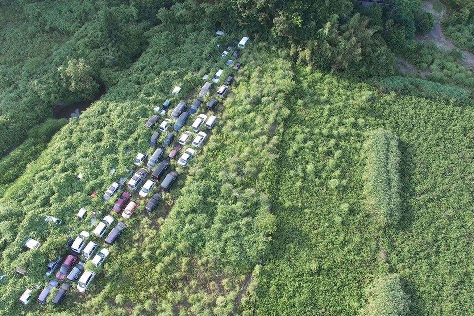 Fukushima disaster left radioactive cars