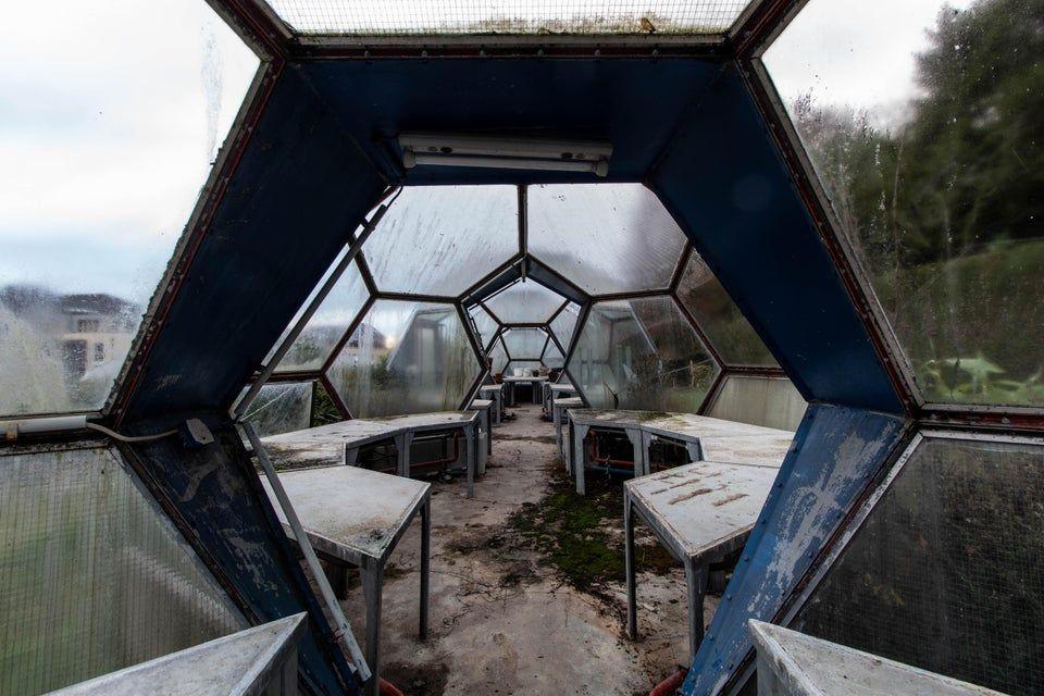 Greenhouses with futuristic design