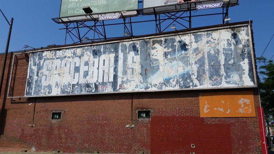 Last Billboard for Spaceballs