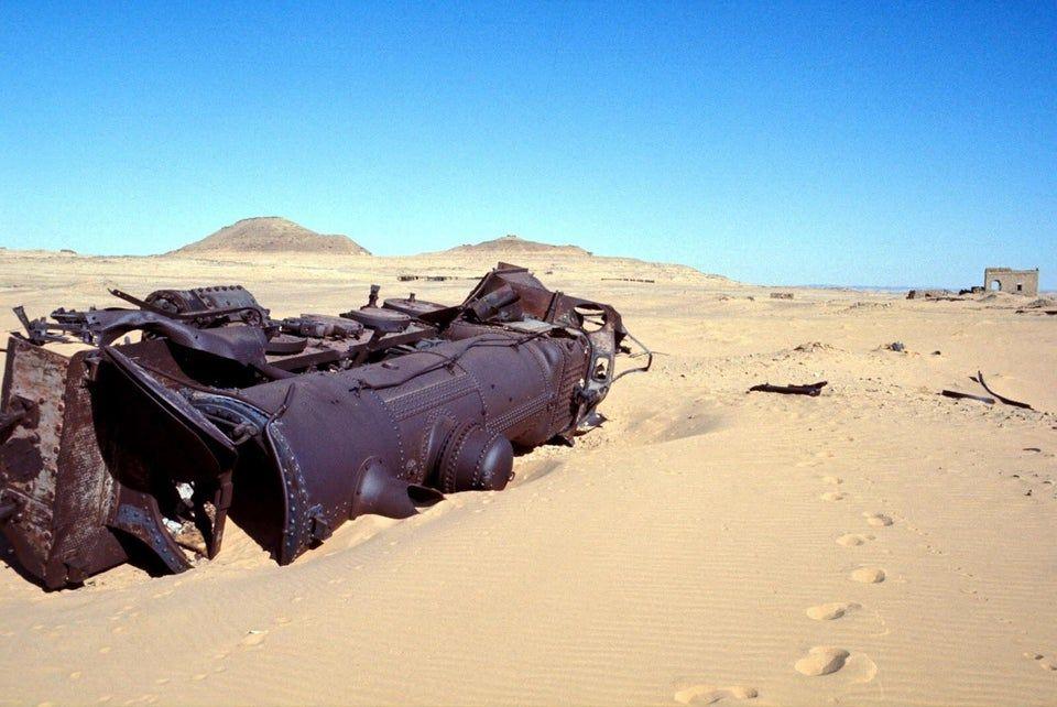Lawrence of Arabia Ambushed Train In The Arabian Desert