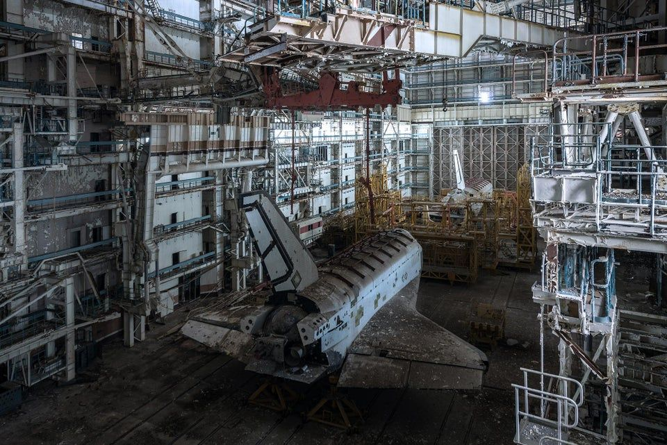 Russian base to see two abandoned Buran shuttles