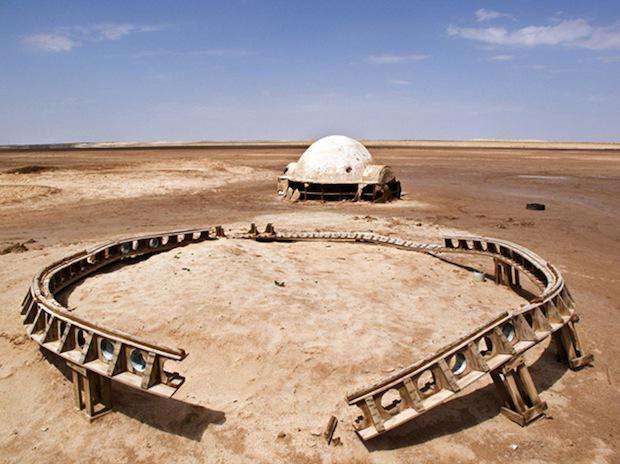 Star Wars movie set in Tunisian Desert