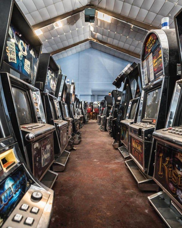 arcade machines relics