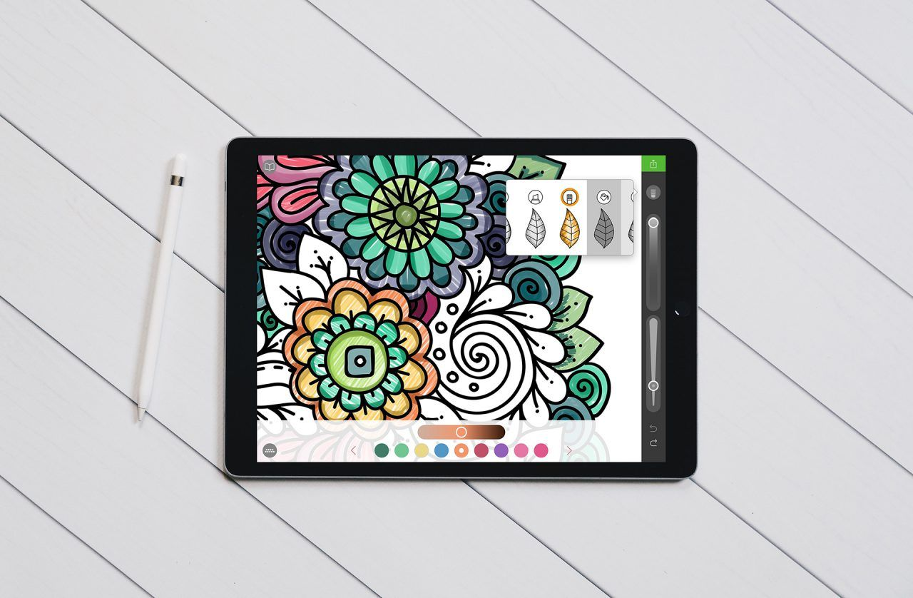 Best Free Coloring Apps For Adults And Kids On Your Ipad Pro