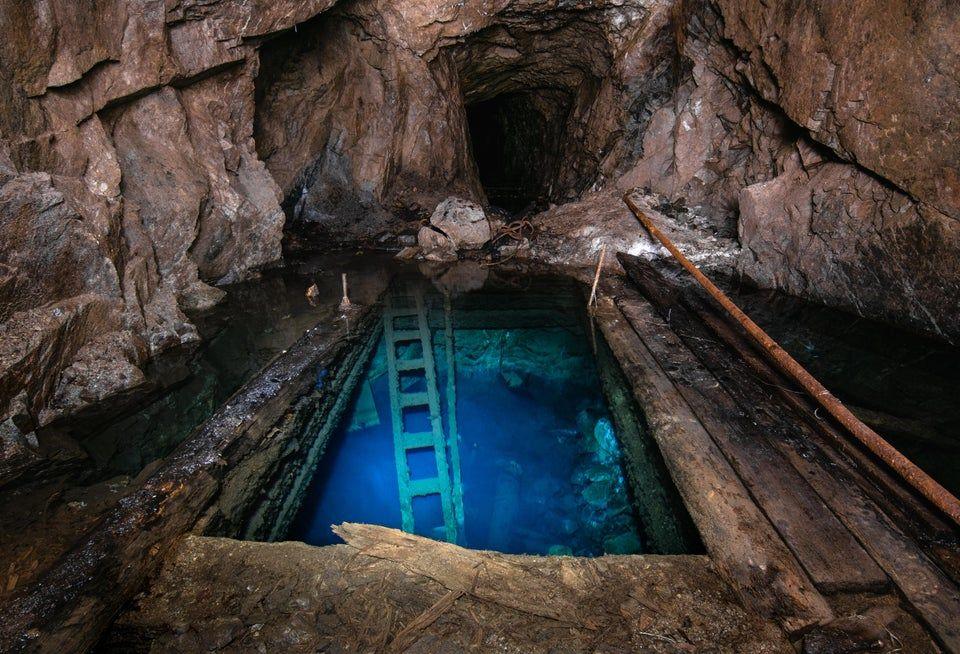 flooded mine in Washington State