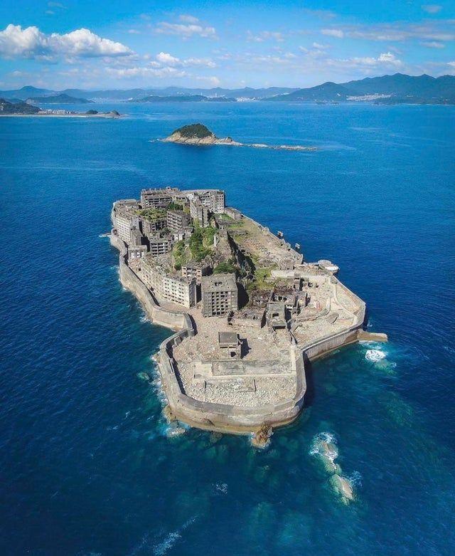man made island in Japan