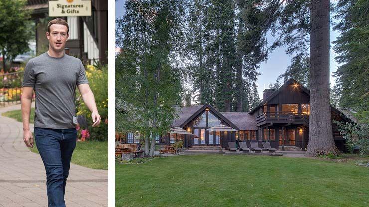 Mark Zuckerberg s House Lake Tahoe