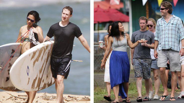 Mark Zuckerberg s Vacations